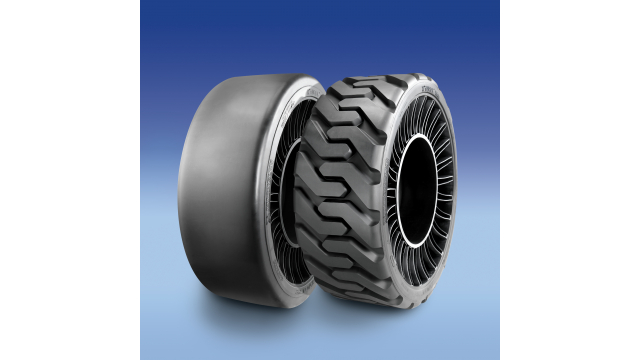 Michelin X Tweel SSL hard surface and all-terrain airless radial tires