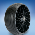 Michelin X TWEEL Turf Caster airless radial tire