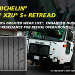 MICHELIN X One XZUS 2+ Pre-Mold Retread